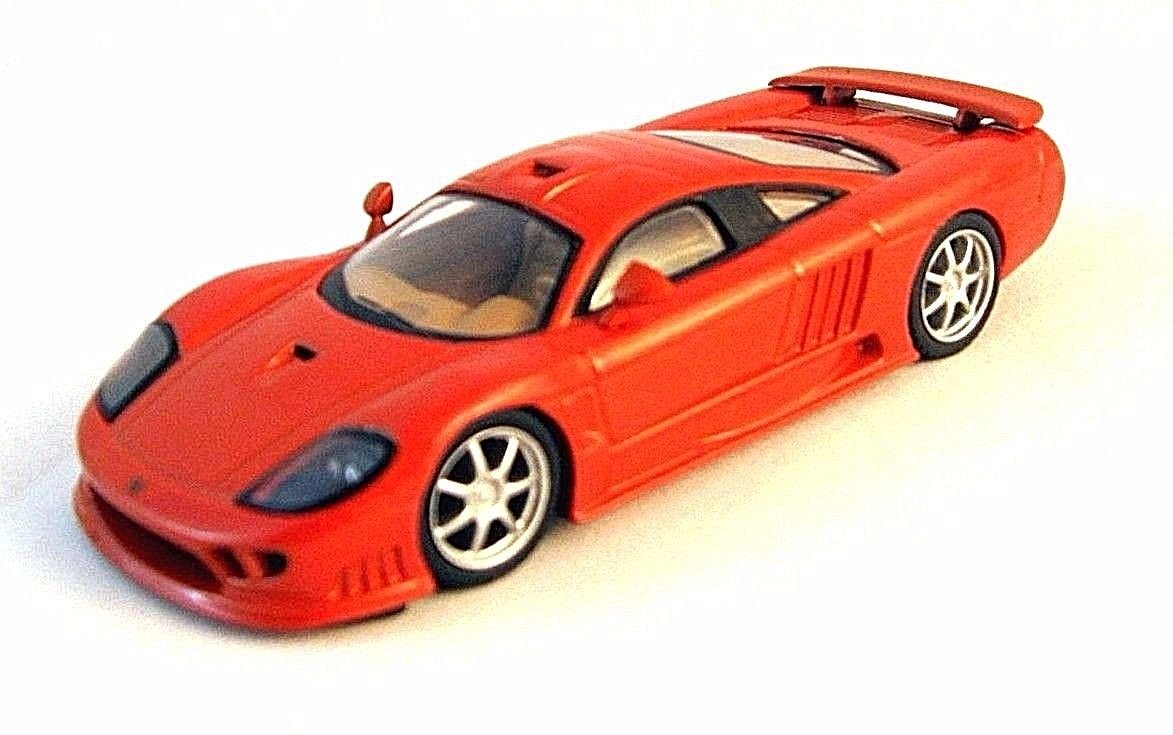 SALEEN S7 COUPE 2004 ORANGE ALTAYA 1/43 DIECAST CAR COLLECTOR'S MODEL , NEW