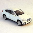 BMW X6 WHITE WELLY 1/38 DIECAST CAR COLLECTOR'S MODEL, BMW COLLECTION, NEW