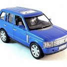 LAND ROVER RANGE ROVER, BLUE WELLY 1:32 DIECAST CAR COLLECTOR'S MODEL, NEW