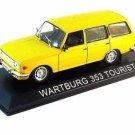 WARTBURG 353 TOURIST, YELLOW ALTAYA 1/43 DIECAST CAR COLLECTOR'S MODEL , NEW