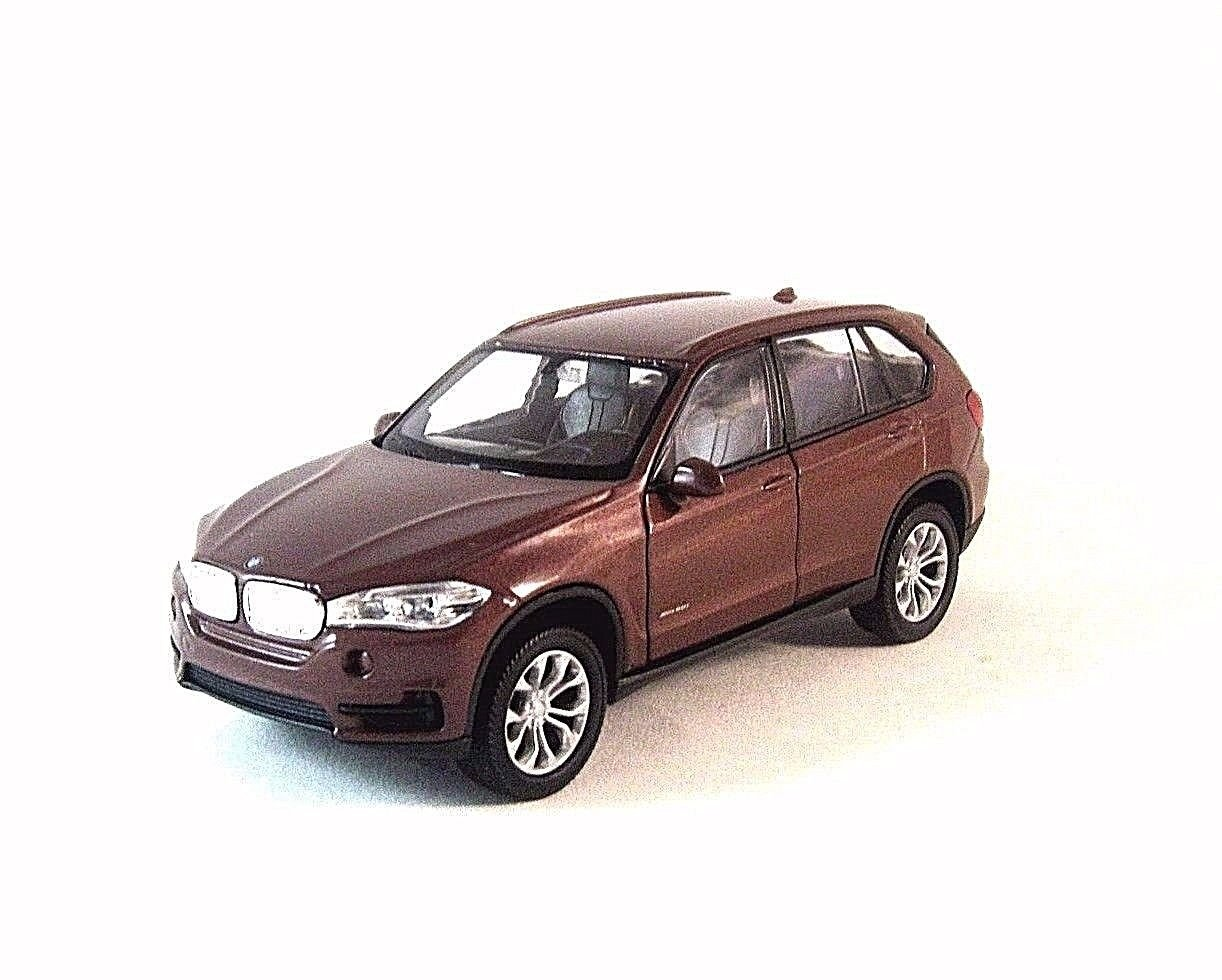 BMW X5, METALLIC BROWN WELLY 1/32 DIECAST CAR COLLECTOR'S MODEL ,RARE, NEW