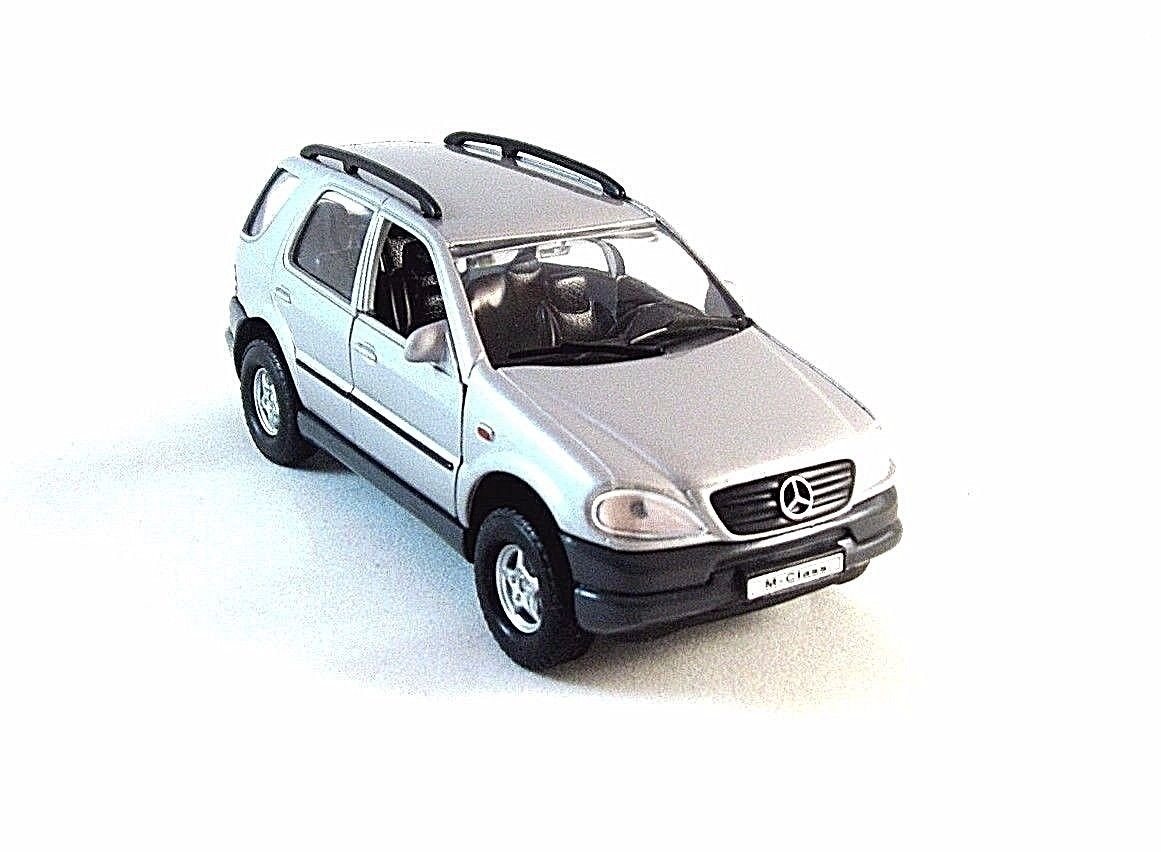 MERCEDES-BENZ M-CLASS WELLY 1/32 DIECAST CAR MODEL, CAR COLLECTOR'S MODEL , NEW