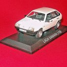 LADA SAMARA 2109,WHITE ALTAYA 1/43 DIECAST CAR COLLECTOR'S MODEL,COLLECTIBLE CAR