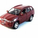 BMW X5 ,BORDEAUX MAISTO 1/42 DIECAST CAR COLLECTOR'S MODEL , COLLECTIBLE , NEW