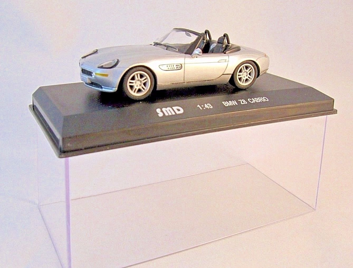 BMW Z8 SPIDER CABRIO 1999 HIGH SPEED/SAN MODEL DESIGN DIECAST MODEL CAR1/43 NEW