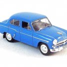 MOSKVITCH-407 BERLINE1958 ,BLUE DEAGOSTINI1/43 DIECAST CAR COLLECTOR'S MODEL,NEW