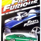 FORD GRAND TORINO SPORT,FAST AND FURIOUS GREEN HOTWHEELS 1:64 DIECAST CAR MODEL