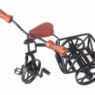 Handcrafted tricycle,Iron Display Model of an Antique Tricycle,Collectible,Rare