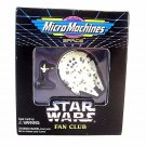 STAR WARS MICRO MACHINES,MILLENIUM FALCON WITH HAN SOLO,LIMITED EDITION RARE,NEW