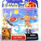 STAR WARS - ATTACK OF THE CLONES DELUXE MACE WINDU+BLAST-APART BATTLE DROID,NEW