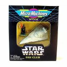 STAR WARS MICRO MACHINES DARTH VADER WITH STAR DESTROYER,LIMITED EDITION, NEW