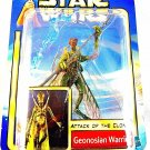 STAR WARS ATTACK OF THE CLONES CARDED GEONOSIAN WARRIOR ,COLLECTOR'S ITEM ,NEW