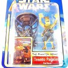 STAR WARS THE PHANTOM MENACE CARDED TEEMTO PAGALIES-POD RACER ,COLLECTOR'S ITEM