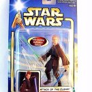 STAR WARS AOTC CARDED ANAKIN SKYWALKER HANGAR DUEL C-7/8 ,COLLECTIBLE, NEW
