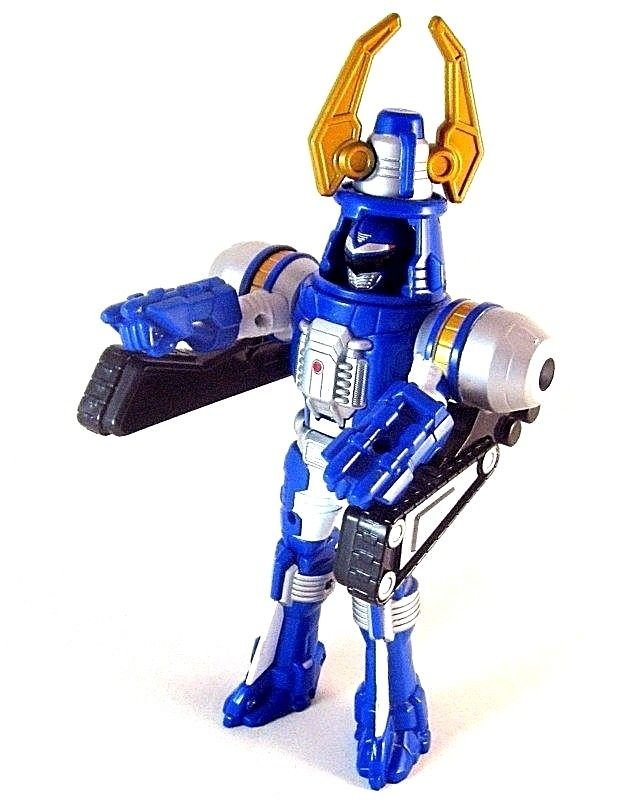 POWER RANGERS, BLUE TURBO DRILL ACTION FIGURE 2006,BATTERY OPERATED ,COLLECTIBLE