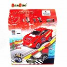 BAN BAO,CLASSIC BUILDING BLOCKS-RACE CLUB HIGH QUALITY RACE CAR-BUILD/SCAN/PLAY