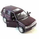 LAND ROVER RANGE ROVER ,BORDEAUX WELLY 1/32 DIECAST CAR COLLECTOR'S MODEL ,NEW