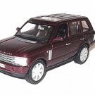 LAND ROVER RANGE ROVER ,BORDEAUX WELLY 1:32 DIECAST CAR COLLECTOR'S MODEL ,NEW