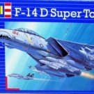 F-14 D SUPER TOMCAT AIRCRAFT MODEL, REVELL-KIT 1:144 SKILL 3 COLLECTOR'S MODEL