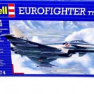 EUROFIGHTER TYPHOON REVELL-KIT 1:144 SKILL 3, COLLECTOR'S AIRCRAFT MODEL, NEW