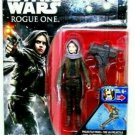STAR WARS, SERGEANT JYN ERSO (JEDHA) ROGUE ONE WITH ACCESSORIES, HASBRO, NEW
