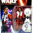 STAR WARS, POE DAMERON, THE FORCE AWAKENS + ACCESSORIES, HASBRO, NEW