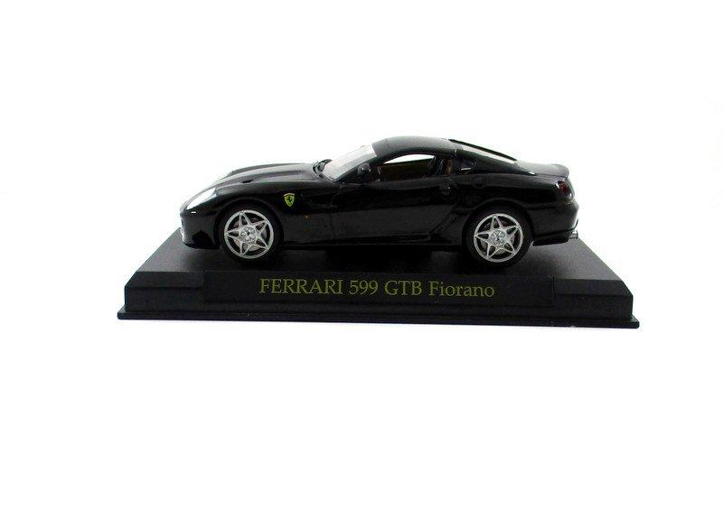 FERRARI 599 GTB FIORANO BLACK ALTAYA 1:43 DIECAST CAR COLLECTOR'S MODEL