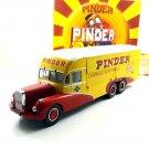 PINDER CIRCUS,BERNARD 28 ELECTRICAL TRUCK YEAR 1951+BOOK,DIREKT COLLECTIONS 1:43