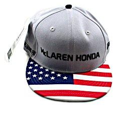 MCLAREN HONDA FORMULA 1,ALONSO & VANDOORNE SPECIAL EDITION,UNITED STATES CAP S/M