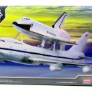 SPACE SHUTTLE & TRANSPORT WHITE ACADEMY MODEL KITS SCALE 1:288