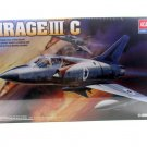MIRAGE 3C AIRCRAFT MILITARY ACADEMY MODEL KITS SCALE 1:48