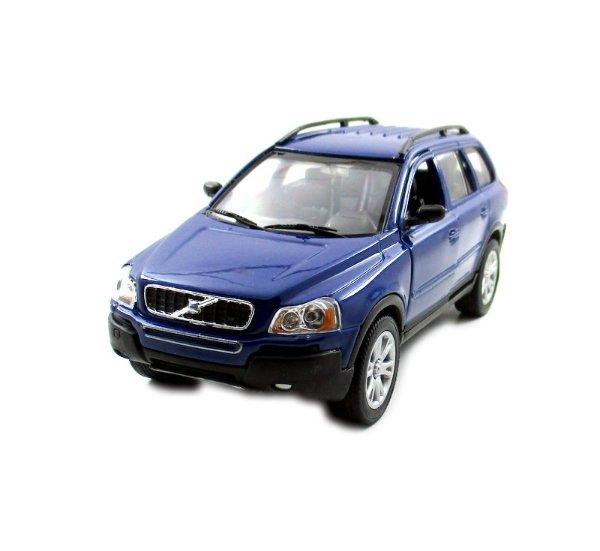 VOLVO XC 90, DARK BLUE WELLY 1/32 DIECAST CAR COLLECTOR'S MODEL ,RARE, NEW