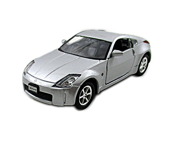 NISSAN FAIRLADY Z SILVER WELLY 1/38 DIECAST CAR COLLECTOR'S MODEL