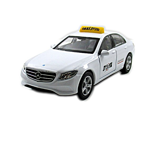 MERCEDES-BENZ E-CLASS 2016,ISRAELI TAXI WELLY 1/38 DIECAST CAR COLLECTOR'S MODEL