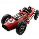 BIG METAL/TIN VINTAGE FERRARI 246 F1 NO.4 WORLD CHAMPION YEAR 1958 RED CAR MODEL