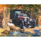 Vintage Car DIY Acrylic Paint by Numbers kit