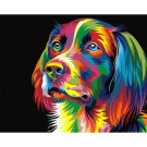Colorful dog DIY Acrylic - NOT AVAILABLE AT THE MOMETN
