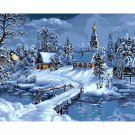Winter Village DIY Acrylic Paint by Numbers kit
