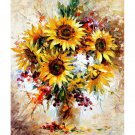 Sunflowers bouquet DIY Acrylic Paint by Numbers kit