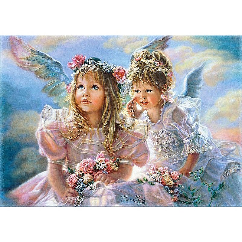 Angels child Acrylic Paint by Numbers kit