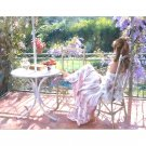 Lady in the garden DIY Acrylic Paint by Numbers kit