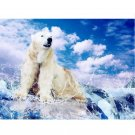 Polar bear DIY Acrylic Paint by Numbers kit