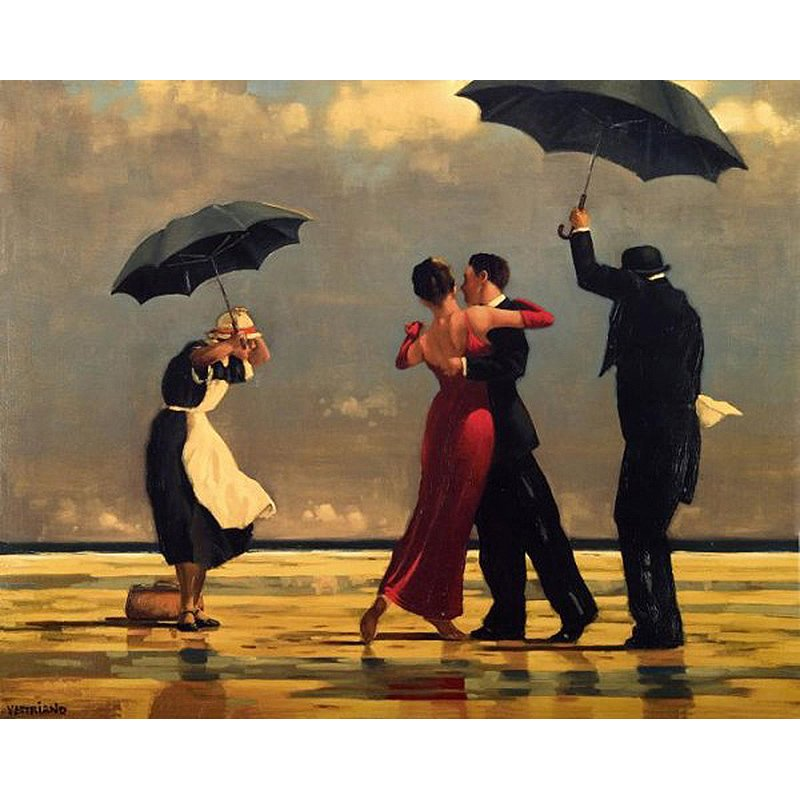 Dancing in the rain DIY Acrylic - NOT AVAILABLE AT THE MOMETN