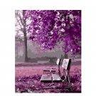 Park in pink DIY Acrylic Paint by Numbers kit