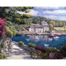 Lake resort DIY Acrylic Paint by Numbers kit