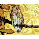 Owl on the branch DIY Acrylic Paint by Numbers kit