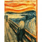The scream DIY Acrylic Paint by Numbers kit