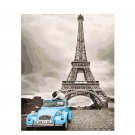 Eiffel tower DIY Acrylic Paint by Numbers kit