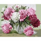 Flowers in the vase DIY Acrylic Paint by Numbers kit