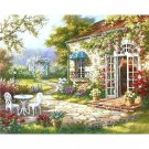 Spring terrace DIY Acrylic Paint by Numbers kit